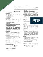 Latihan Soal Osn Matematika 2018 (Set 01)