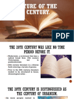 Literature of the 20th century.pptx