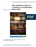 1629987840 Inquebrantable Desarme Satanc3a1s Destruir Fundamento Isbn