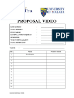 Template Proposal Video Hubungan Etnik