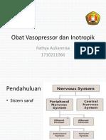 Obat Vasopressor Dan Inotropik