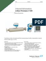 TI01284DEN Promass I500