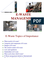 E- Waste Management in India