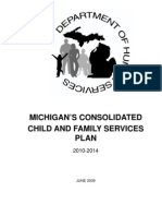 Michigan's Consolidated Child and Family Services Plan 2010-2014