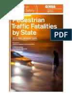 Pedestrian Deaths GHSA