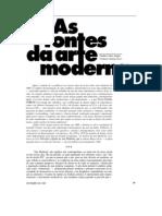 ARGAN, Giulio Carlo - As Fontes Da Arte Moderna