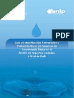 Guia Saneamiento Pequeñas Ciudades Mas de 3001 Habitantes