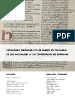 Patrimonio Bibliografico de Ovidio en Colombia
