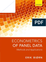 Biørn, Erik-Econometrics of Panel Data _ Methods and Applications-Oxford University Press (2017)