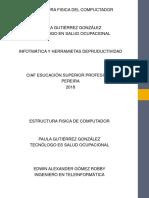 Estructura Fisca Del Computadora
