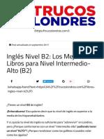 Inglés Nivel B2