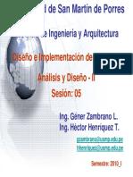 Dis s 05 Analisis y Diseño II