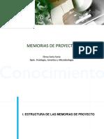 Indice de Memoria de Proyecto