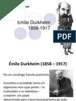 IndivíduoSociedadeDurkheim