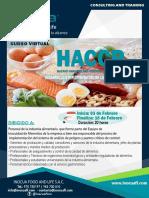 Brochure Curso Haccp