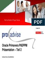 05 Kories 2011-03-01 Oracle Primavera Community Praesentation v002
