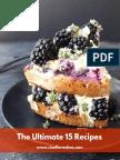 Top 15 Recipes ECookBook