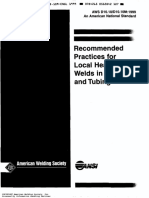 AWS RP D10.10 Recommended Practices for Local Heating of Wel