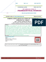 FORMULATION AND EVALUATION OF CARVEDILOL SUBLINGUAL TABLET