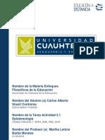 Carlos Alberto Stuart Contreras_Actividad 2.1 Epistemología