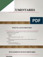 group 6-documentaries