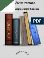 Duarte Sánchez Antonio Diego. El ejército romano.pdf
