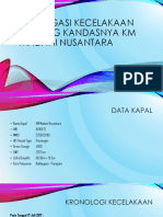 Investigasi Kecelakaan Tentang Kandasnya KM Madani Nusantara