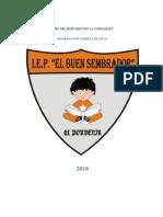 Programacion Anual de Secundaria 2018 Geografia