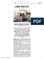 Entrevista Deleuze y Guattari