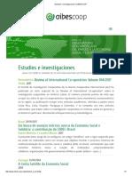 Estudios e Investigaciones _ OIBESCOOP