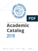 Siebel Institute Academic Catalog R2018 2