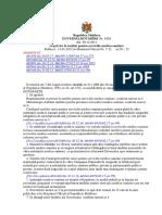 HGM1020 Cu Privire La Tarifele Pentru Serviciile Medico-sanitare