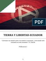 Tierra y Libertad Publicación 1