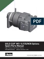m11 - m14 Spare Parts