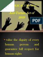 Anti Torture Act