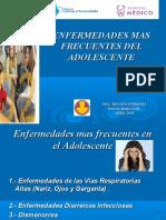 Enfermedades Mas Frecuentes Del Adolescente Olivos