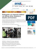 Radiografía a La Migración Haitiana_ Las Últimas Cifras, Prejuicios y Desafíos Del Fenómeno _ Emol.com
