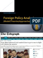 2. Foreign Policy Analysis