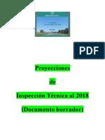Proyecciones de Inspección Técnica Al 2018