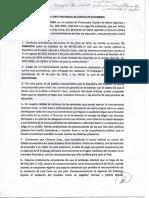 El documento del levantamiento del embargo, pedido por el abogado de los amazónicos y recibido con agrado por Rafael Correa, aquí: