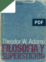 Adorno - 1962 - Teoría de la Pseudocultura (1972).pdf