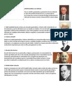 Cientificos Guatemalcos y Sus Aportaciones a La Ciencia