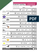 Kids Space Scaffolded Spelling(2)