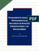Fundamento Normativo y Procedimental Avalúos Servidumbres y Expropiatorios