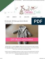 Post Invitado_ DIY Buzo para bebé de Misabel ~ Sara's Code_ Blog de Costura + DIY