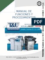 Manual de Funciones y Procedimientos t&u Importaciones Sa 2013