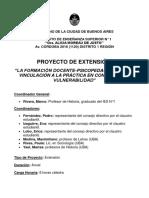 Proyecto La Formación Docente-psicopedagógica (1)