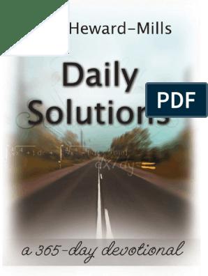 daily-solutions-dag-heward-mills pdf | Born Again | Wisdom