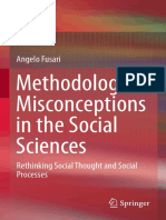 Methodological Misconceptions in the Social Sciences Rethinking Social Thought and Social Processes