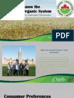 Organic Alberta 2018 Conference Presentation - Consumer Demand for Organics by Tia Loftsgard